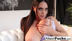 Hot Alison Tyler rubs herself to a sexy conclusion! Thumb