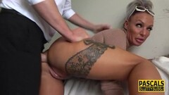 Sweet Real kinky milf gets ass fucked and swallows Thumb
