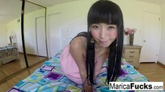 Naughty Marica Hase has some fun at home with her camera Thumb