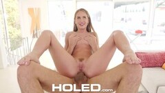 Hot Creampie Anal Fuck With Petentious Brunette Thumb