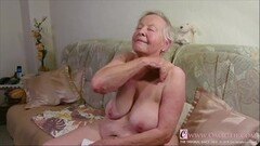 Kinky Real Granny Juicy Pussy Closeup Video Thumb