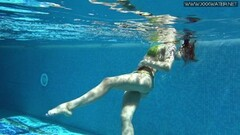 Nicole Pearl hot Russian pornstar gets naked underwater Thumb