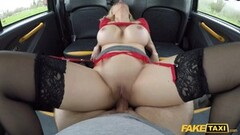 Fake Taxi Amber Jayne slammed showing off her new boobs Thumb