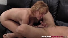 Babe Brittany fucking cock at creampie casting Thumb