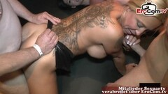 Kinky german hardcore cumshot and creampie orgy Thumb