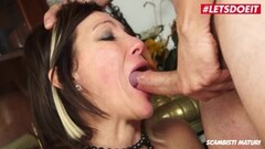 Cute Italian Mom Has Rough Sex With Teen Stud Thumb