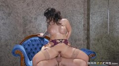 Ivy Lebelle rides her hot body on a big dick Thumb