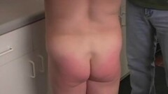 Kitchen BBW Gets Her Ass Cheek Punishment Thumb