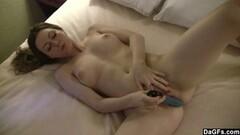 Cute Pale Babe With Nice Tits Masturbates Thumb