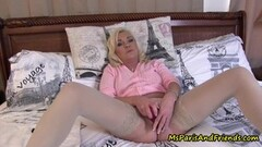 Nasty Ms Paris Prepares Her Panties for Delivery Thumb