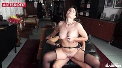 Mature Brunette Gets Anal Drilled By Stud Thumb