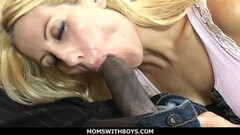 MomsWithBoys Russian MILF Getting Her First Black Cock Thumb