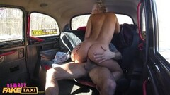Cute Busty driver swaps fare for fuck Thumb