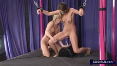 Naughty Slave Bree gets a Sybian lession Thumb