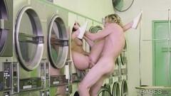 Hot Washing machine pussy fuck with Elena Koshka Thumb