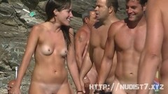 Hot pussy and ass shots by a nude beach voyeur Thumb