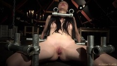 Kinky Teen in Hard BDSM punishment naughty behavior Thumb