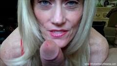 Blonde Granny Makes Homemade Blowjob Tape Thumb
