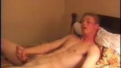 Naughty Straight Boy Justin Wanks His Cock Thumb