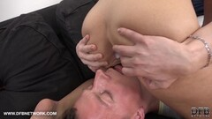 Short Hair Wife Gets Ass Fucked And Creampie Thumb