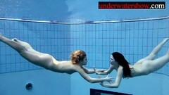 Andrea and Monica underwater sexy girls Thumb