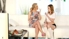 Kristen Scott seduced by naughty stepmom Cherie Deville Thumb