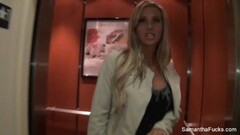 Samantha Saint Behind the scenes Thumb