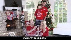 FamilyStrokes - Fucking My Sis for Holiday Christmas Thumb