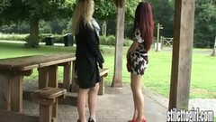 Hot stiletto babes in sexy high heels Thumb