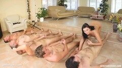 Group cumshots for Renata at Cum For Cover Thumb