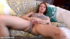 Sensual Violet Monroe rubs her warm pussy Thumb