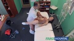 Naughty Doctor performs sexual acrobatics Thumb