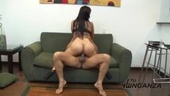 Latina rides this hard cock Thumb