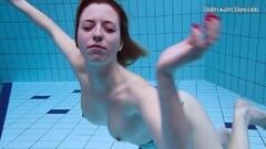 Hottest underwater submerged teen Anetta Thumb