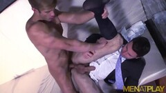 Sexy Latinos In Suits Ass Breed After Rimming Thumb