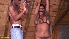 Naughty African Bbw First Fetish Lesson Thumb